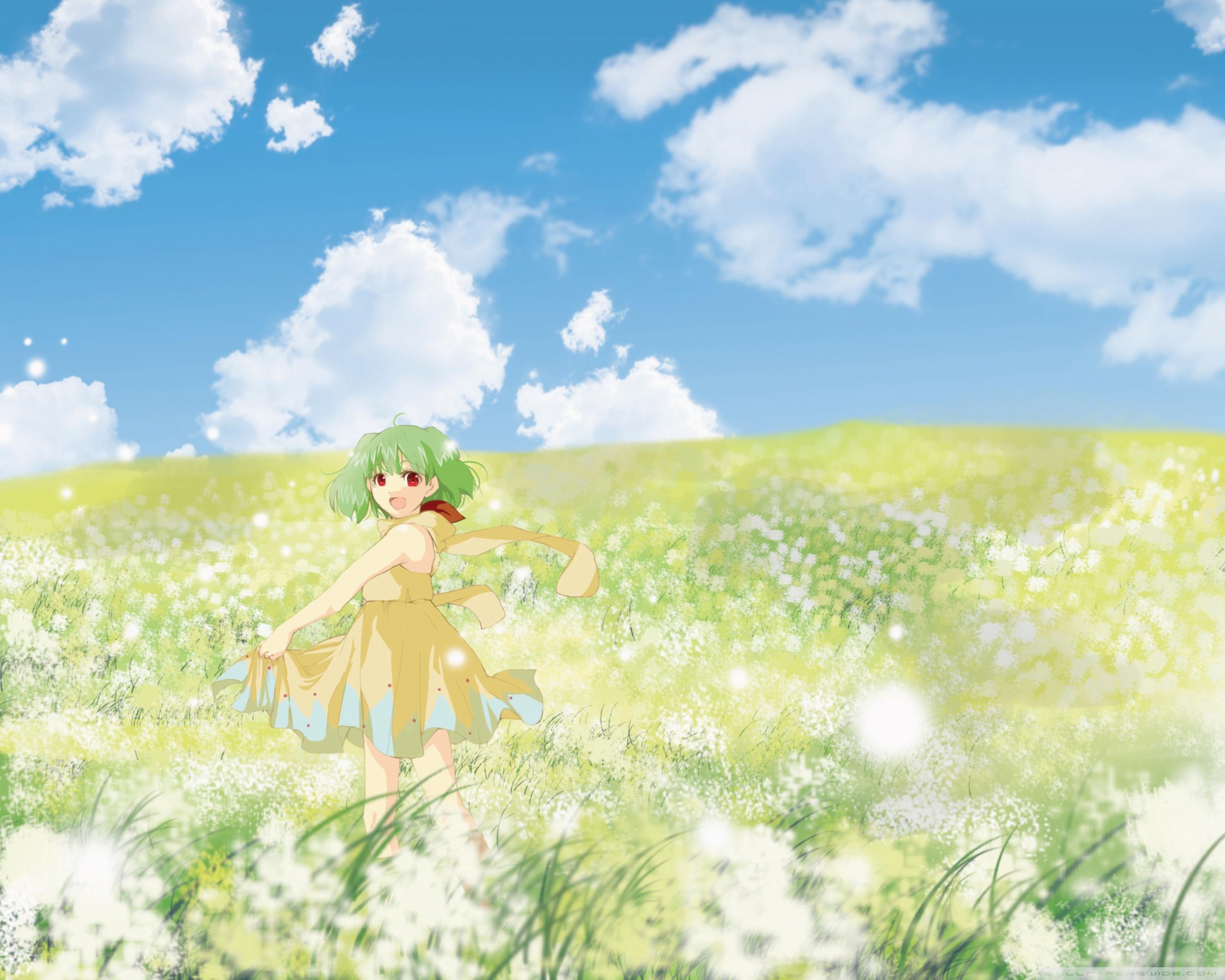 Anime Flower Wallpaper Posted By Michelle Peltier