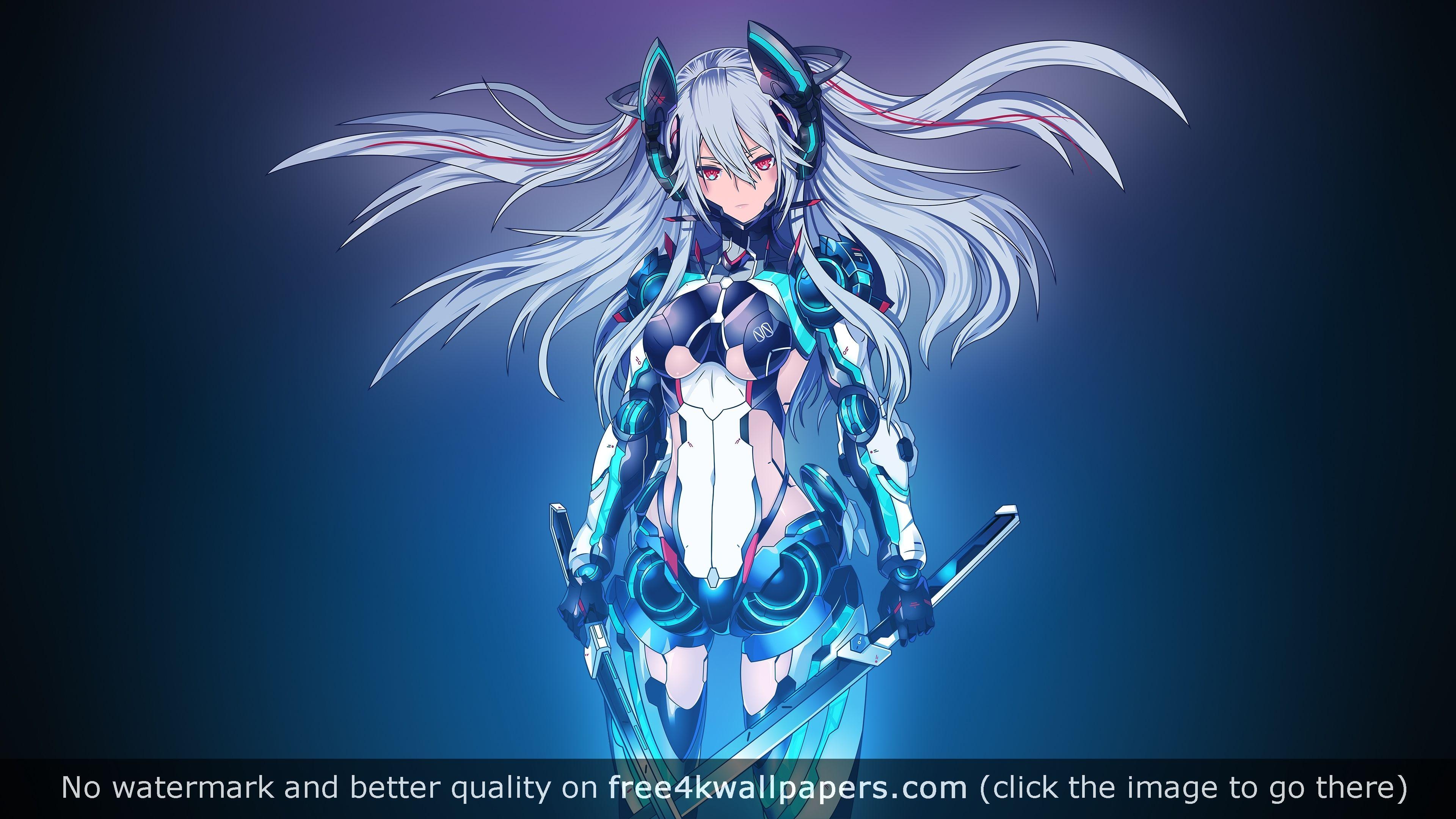 Anime Girl Wallpaper 4k Posted By Christopher Johnson