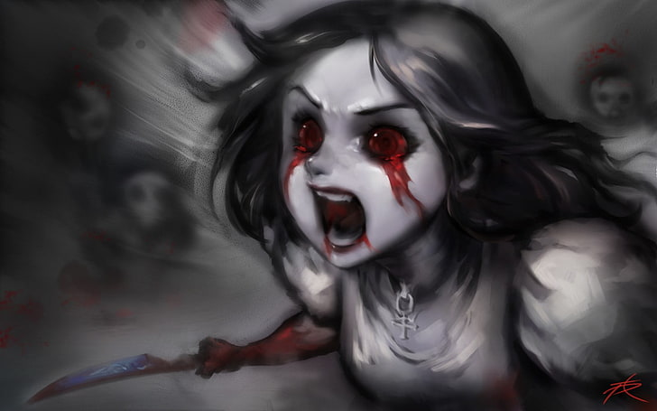 Anime Horror Wallpapers Posted By Sarah Johnson