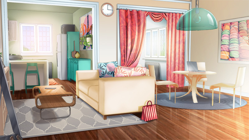 Anime Kitchen Background Posted By Samantha Thompson