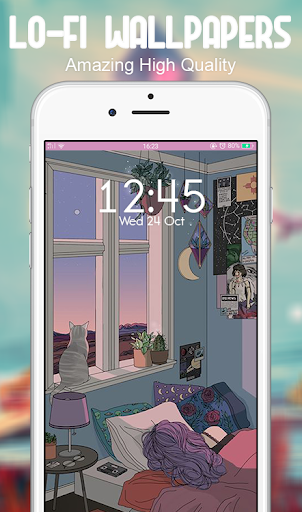 Download Lo fi Wallpaper for android Myket