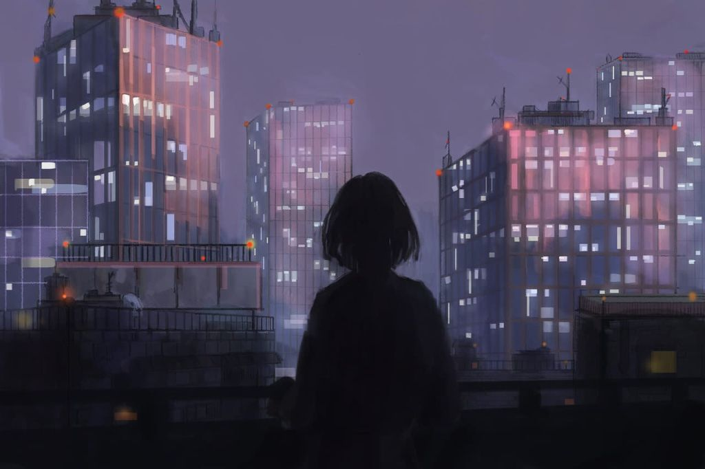 Anime Night City Posted By Christopher Mercado