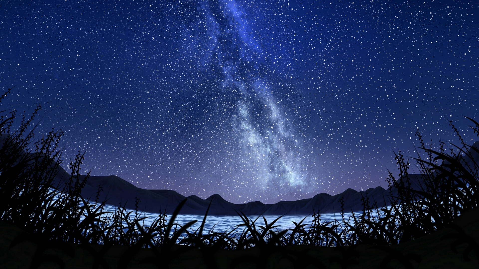 Anime Night Sky Background Posted By Christopher Thompson