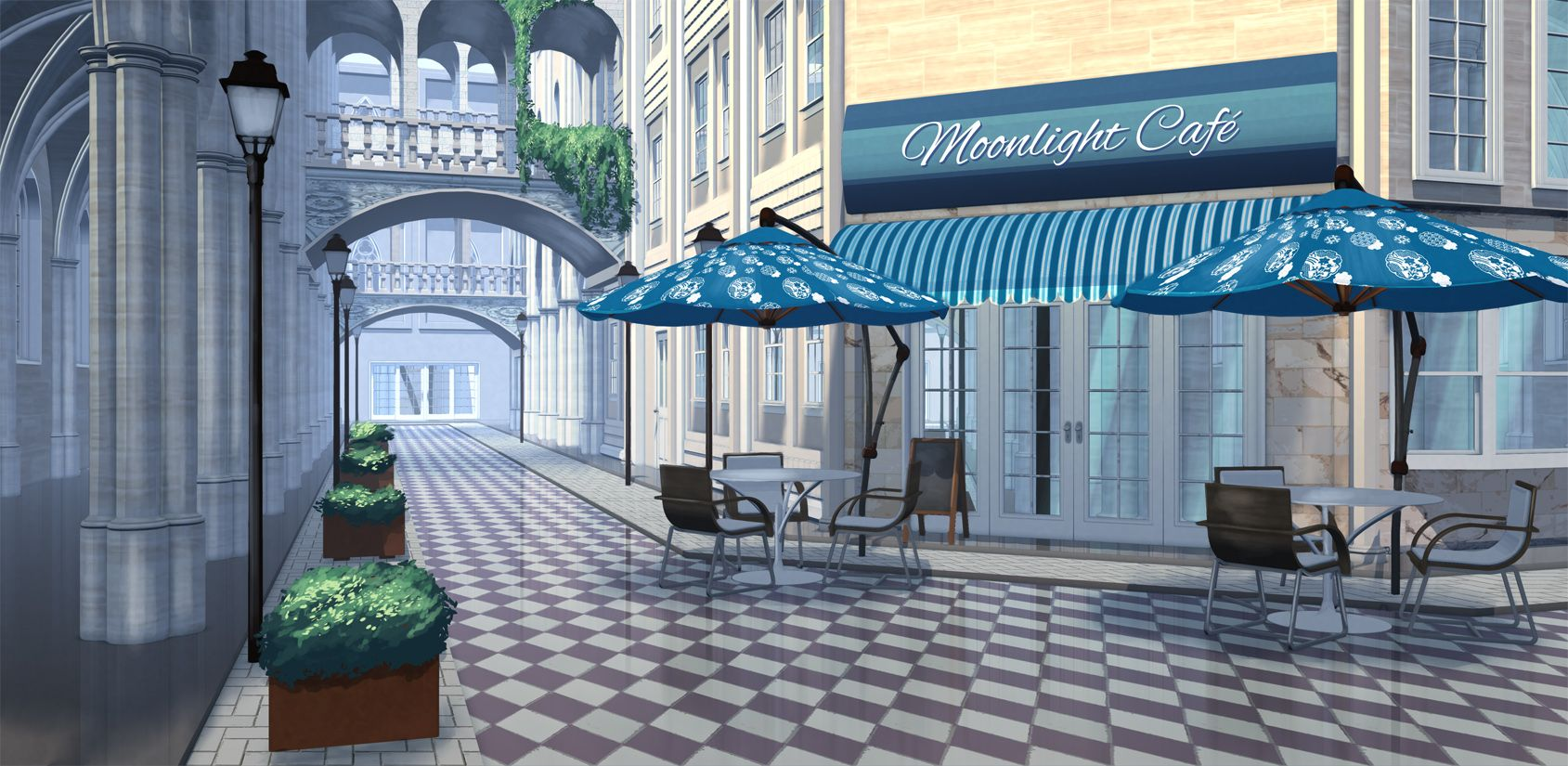 Anime Street Background Posted By Zoey Sellers