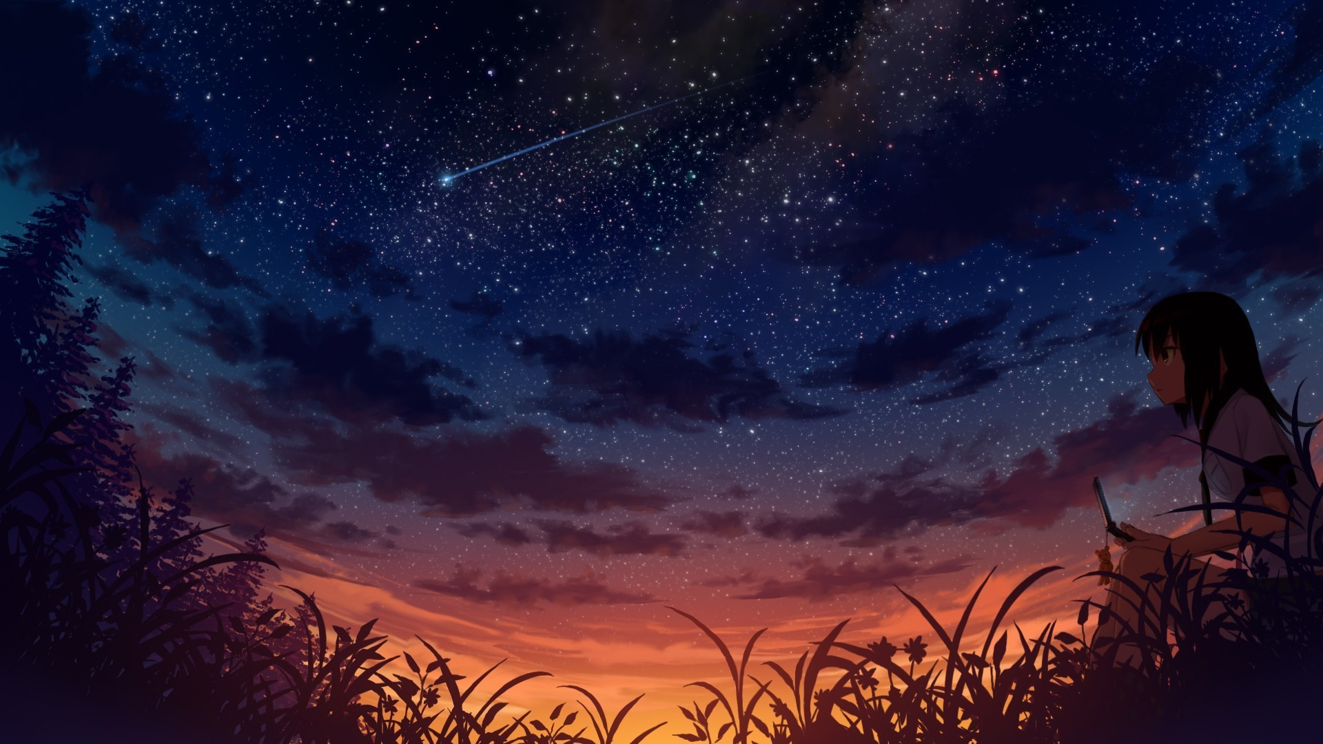 Anime Wallpaper Landscape Posted By Zoey Mercado
