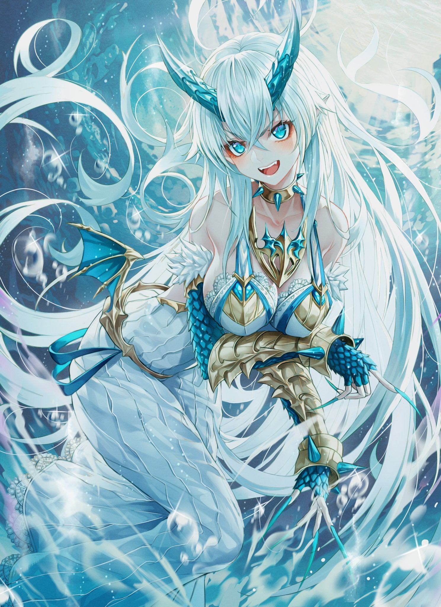 Anime Water Dragon posted by Christopher Mercado