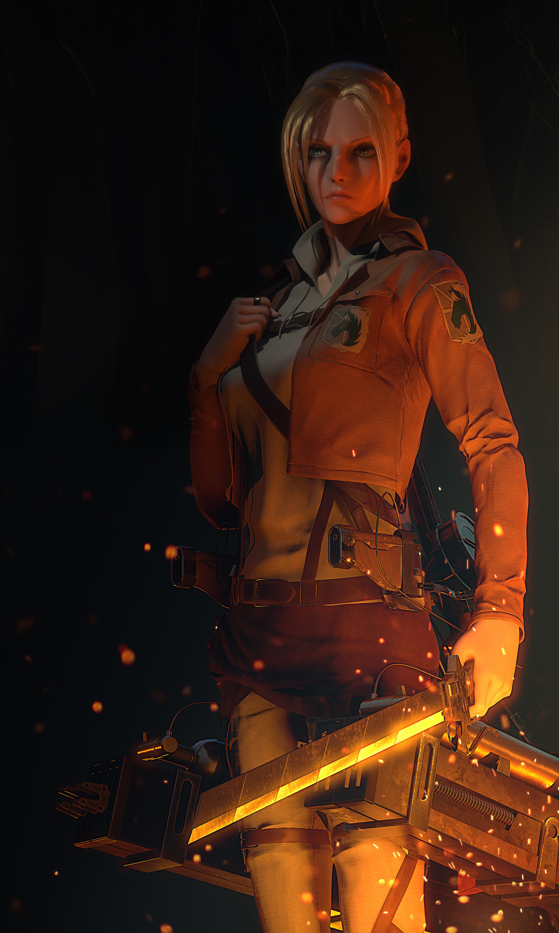 Annie Leonhart Wallpaper Posted By Christopher Simpson