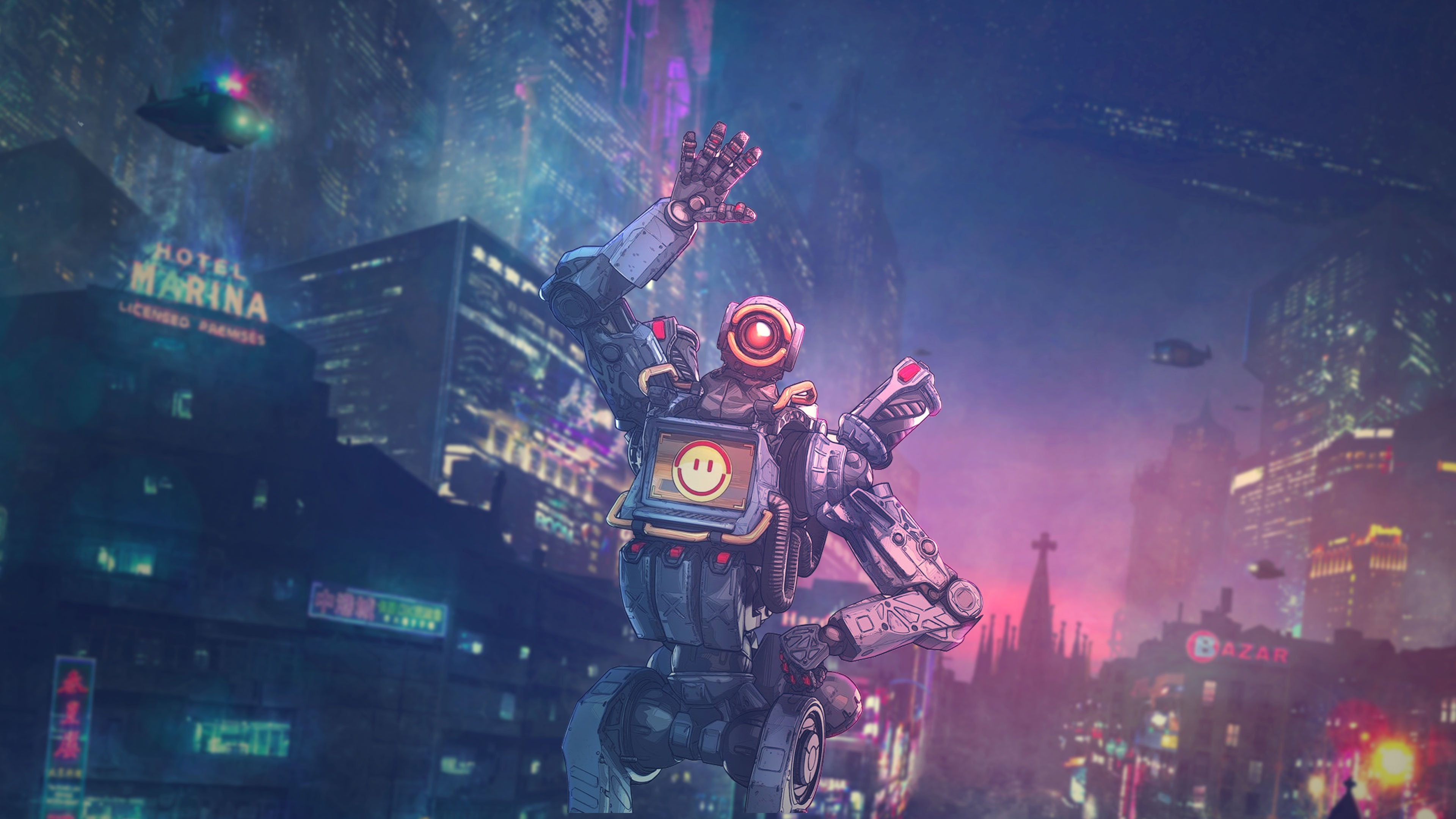 Apex Legends Pathfinder Wallpaper Posted By John Simpson