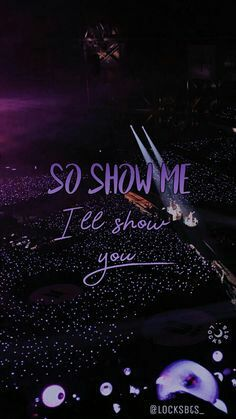 Beautiful ARMY bomb ocean pic from SY Tour in Paris Day 2