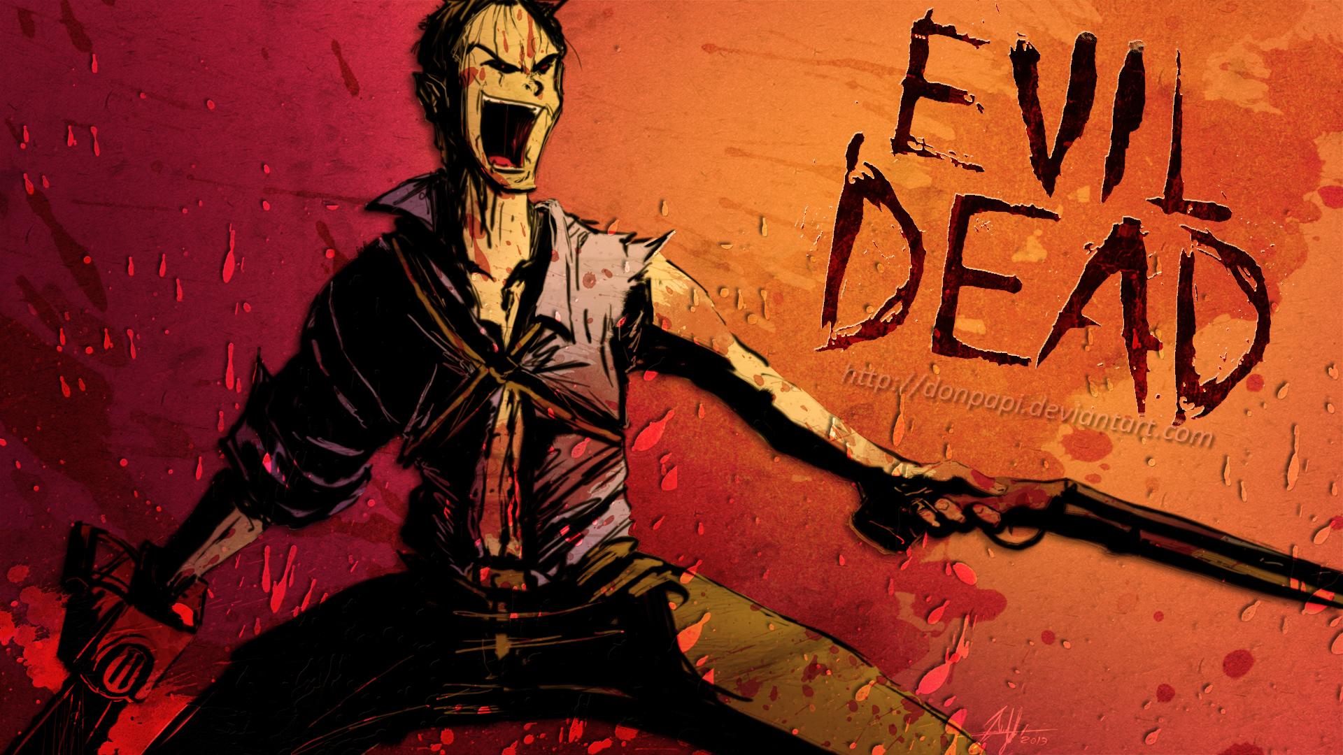 Ash Vs Evil Dead Wallpaper
