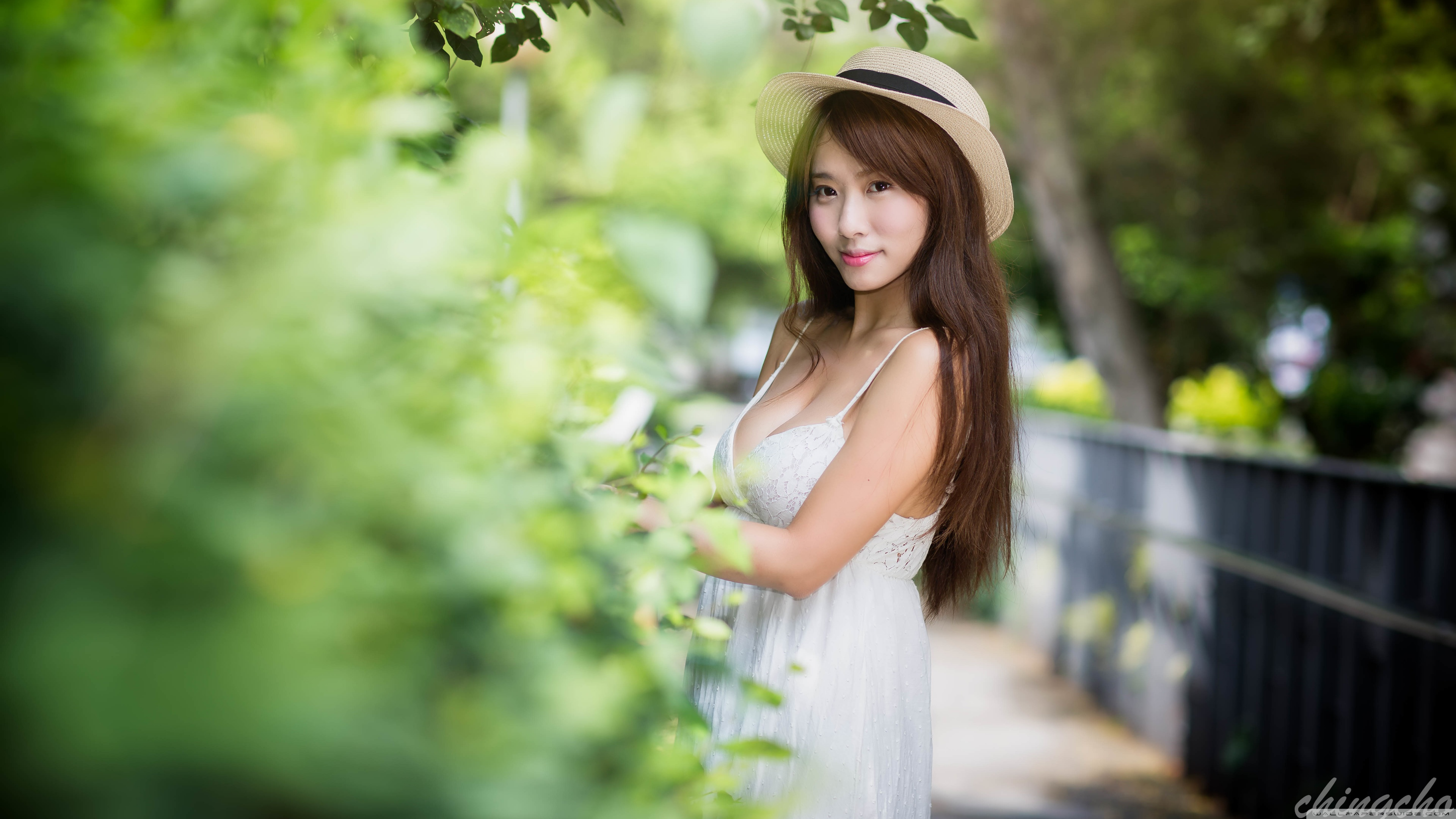 Asian Model Wallpaper
