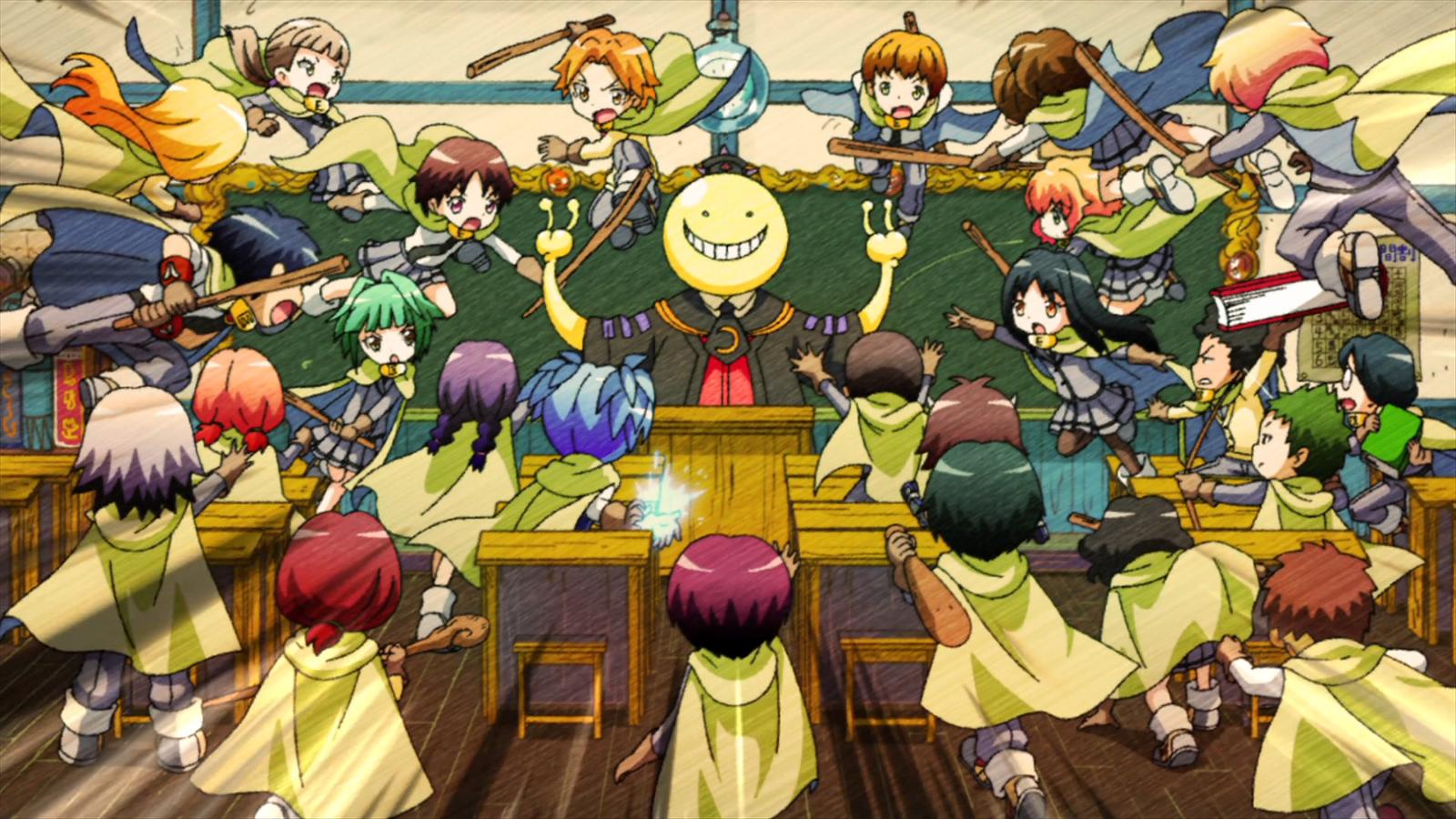 Assassination Classroom Koro Sensei Wallpaper