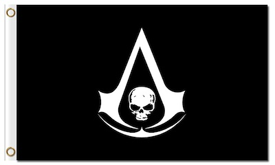 Assassins Creed Black Flag Logo Posted By Christopher Anderson