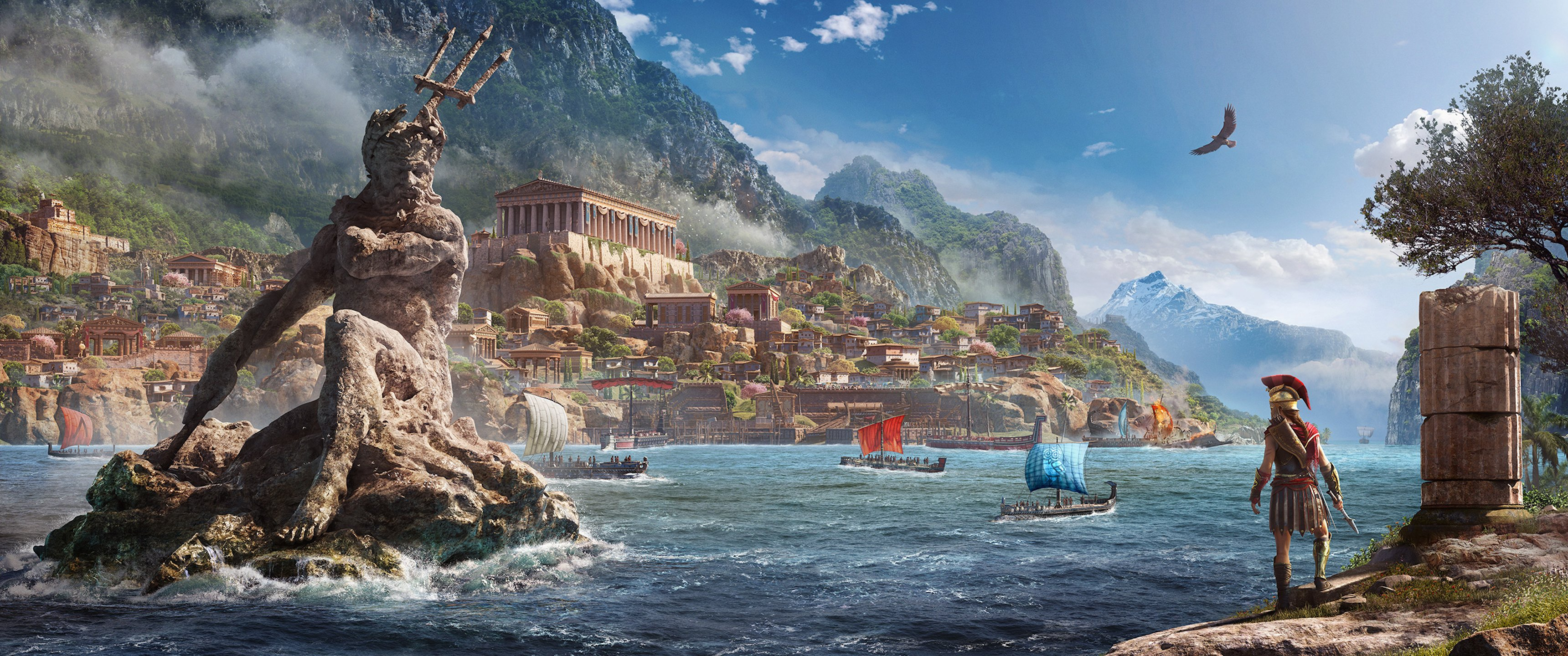 Assassins Creed Odyssey Hd Wallpapers Posted By Zoey Mercado