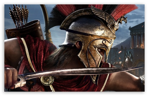 View Assassin's Creed Odyssey Wallpaper 4K Gif