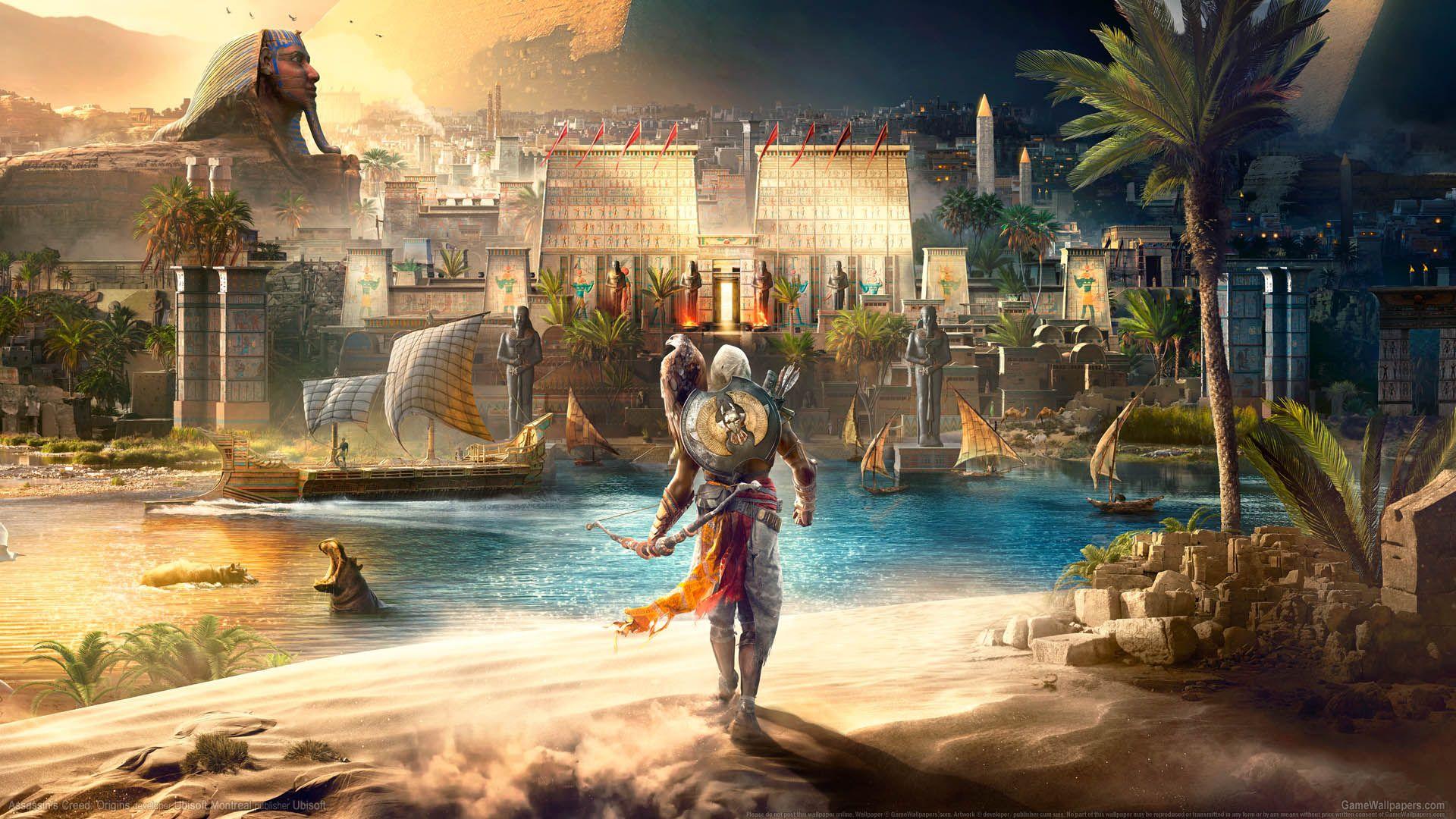 Assassins Creed Origins Wallpaper Posted By Ryan Walker