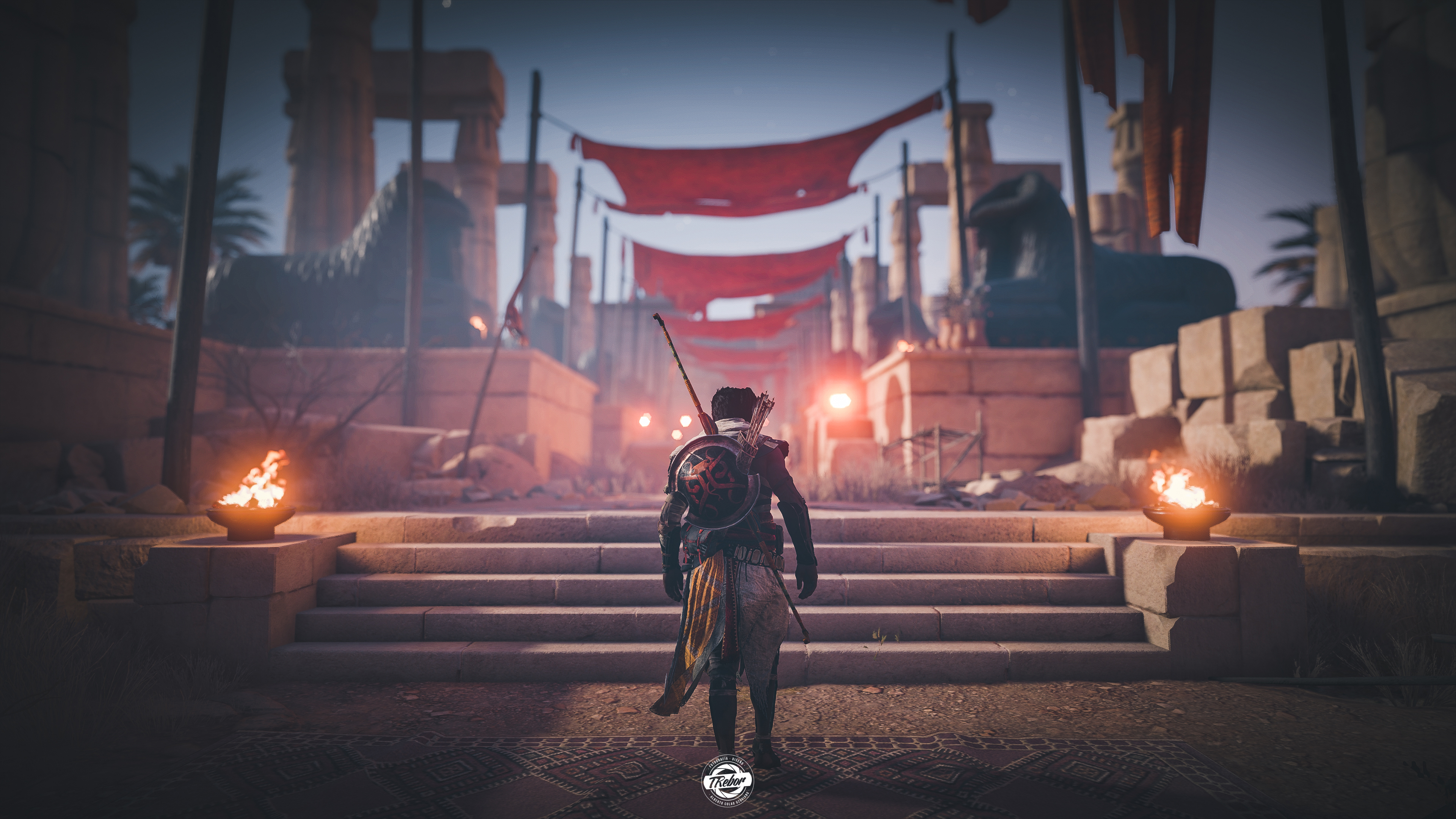 Assassins Creed Origins Wallpapers Posted By Ethan Tremblay