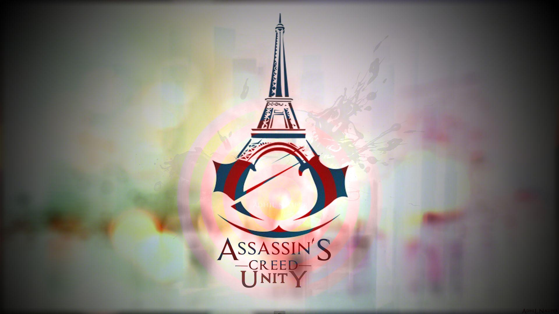 assassins creed unity logo wallpaper