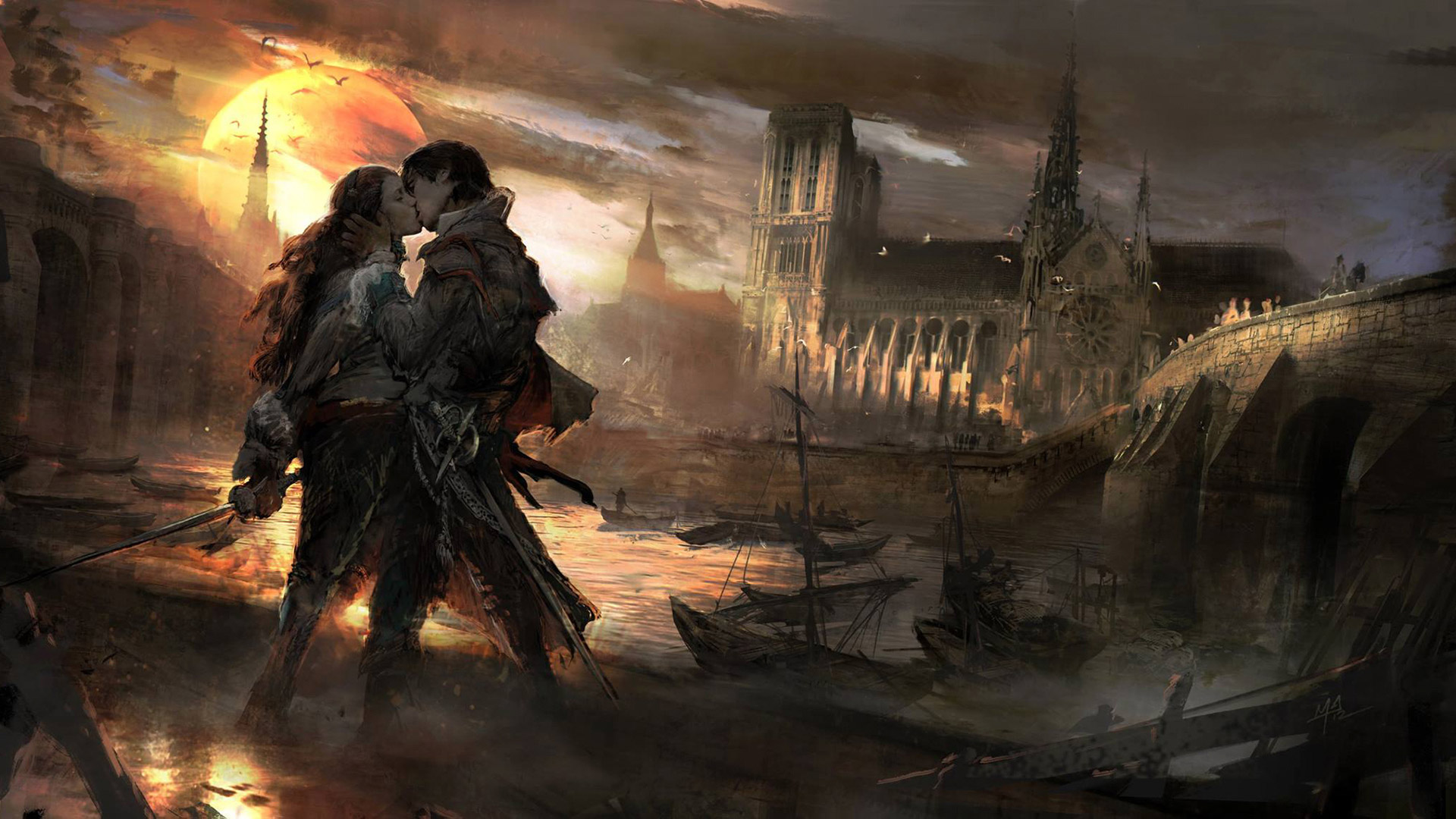 Assassins Creed Unity Wallpapers Posted By Ryan Anderson