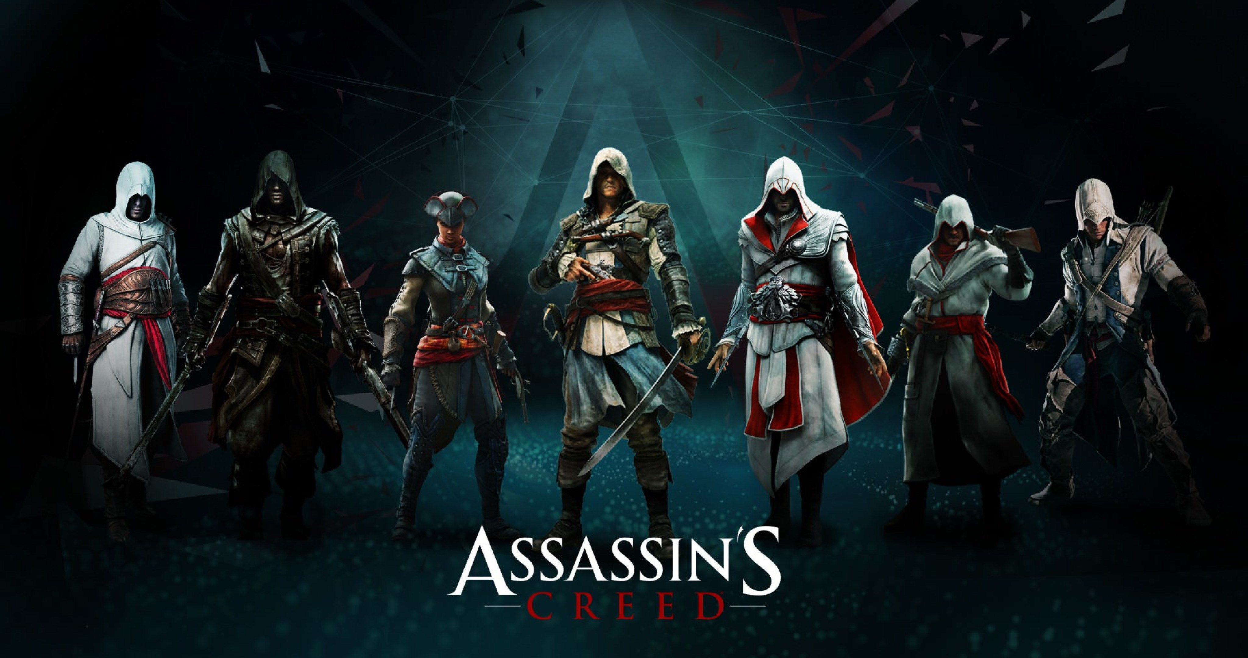 Assassins Creed Wallpaper 4k Posted By Samantha Cunningham