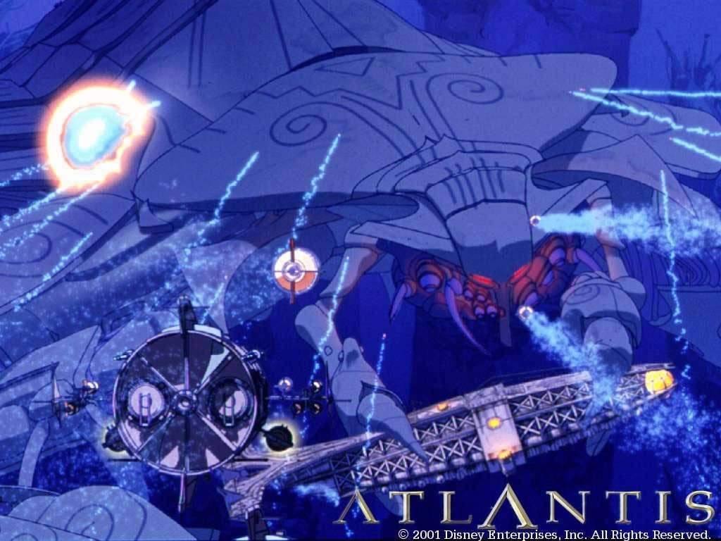 Atlantis The Lost Empire Wallpaper Posted By Zoey Cunningham