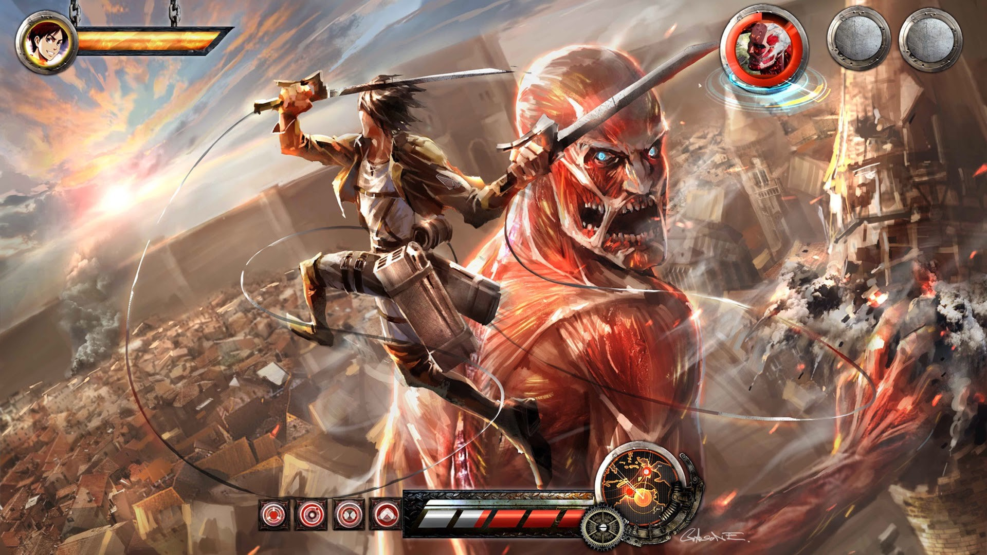 Attack On Titan 1920x1080 Posted By Zoey Peltier
