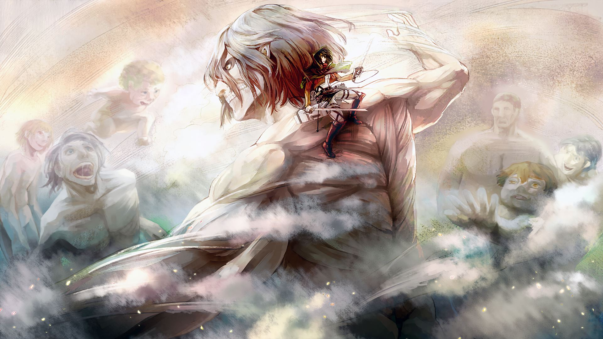 Attack On Titan 1920x1080 Posted By Michelle Walker