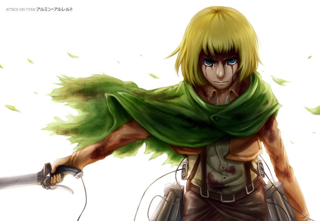 Attack On Titan Armin Wallpaper Posted By Sarah Walker