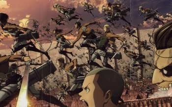 Attack On Titan Background Posted By Michelle Simpson