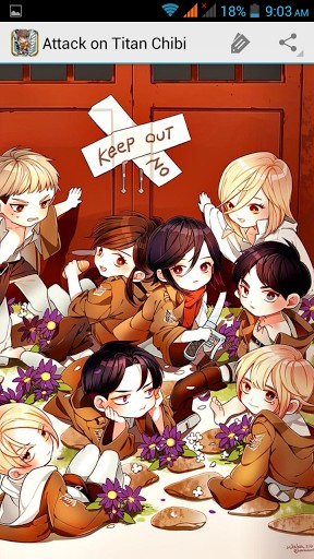 Attack On Titan Chibi Wallpaper Posted By Ryan Thompson