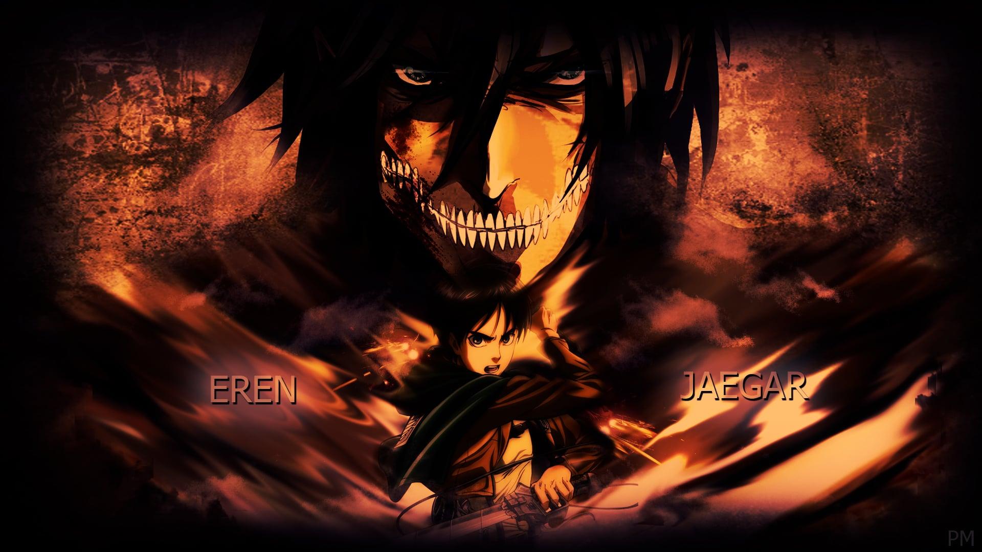 Attack On Titan Desktop Wallpaper Posted By Samantha Mercado
