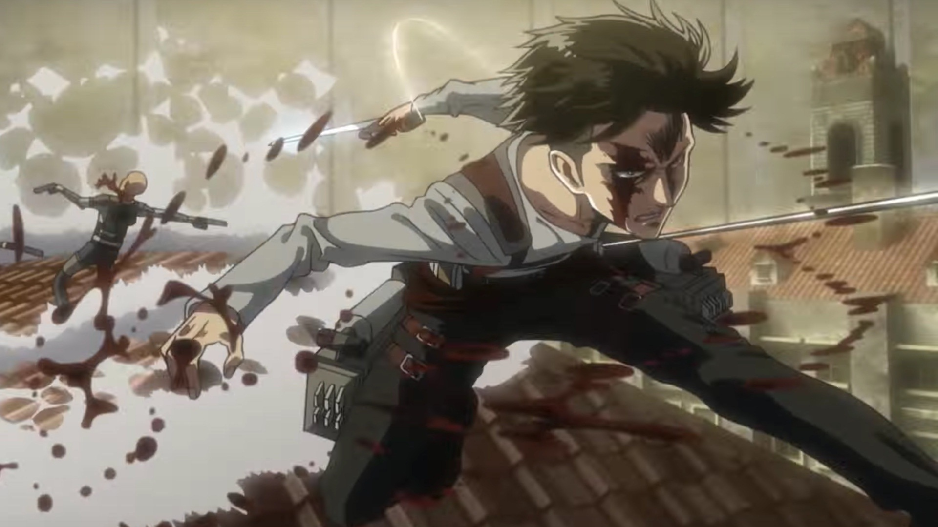 Shingeki No Kyojin Wallpaper 4k Pc Gambar Ngetrend Dan Viral