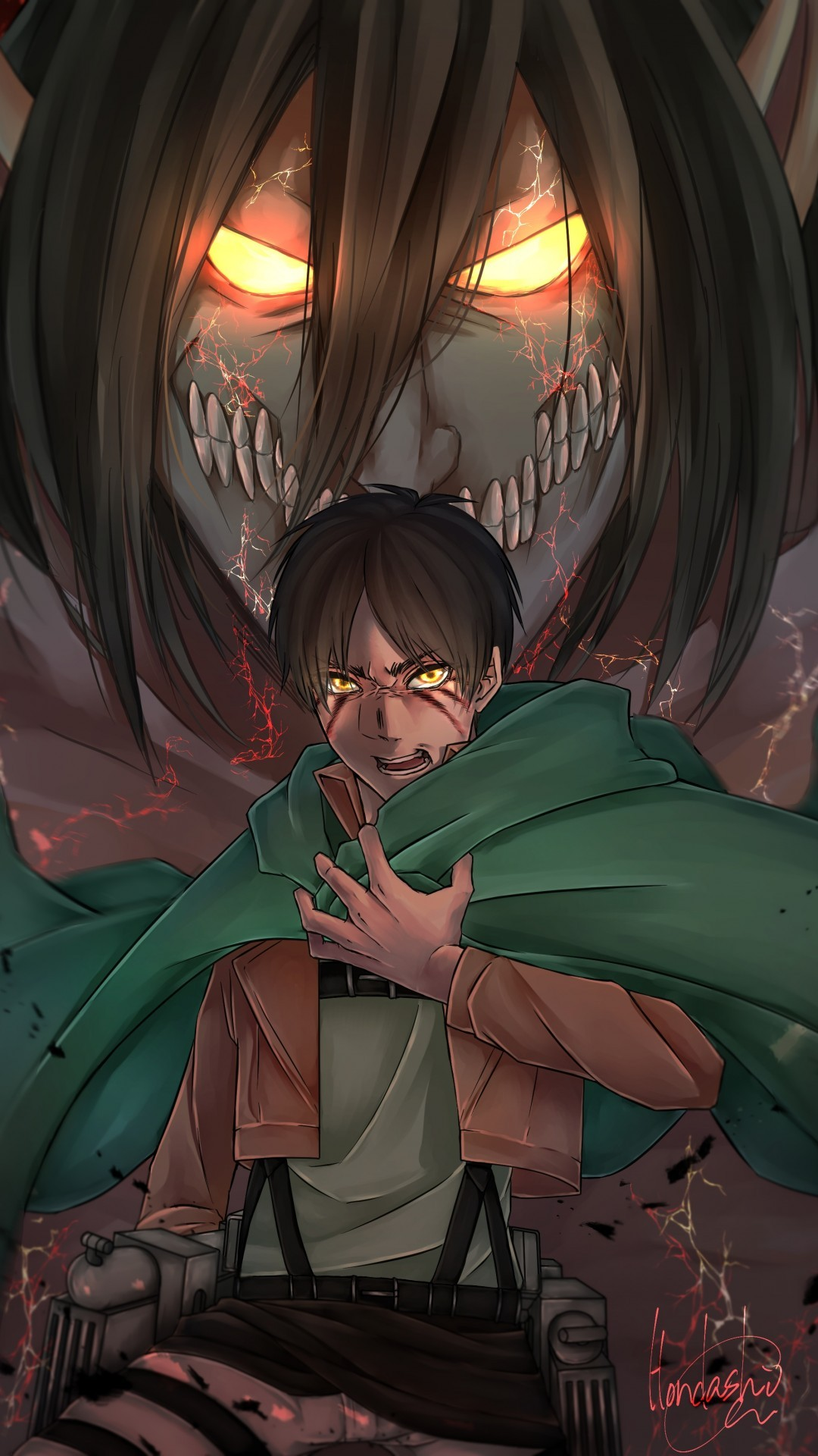 Attack On Titan Iphone Wallpaper Posted By Michelle Anderson