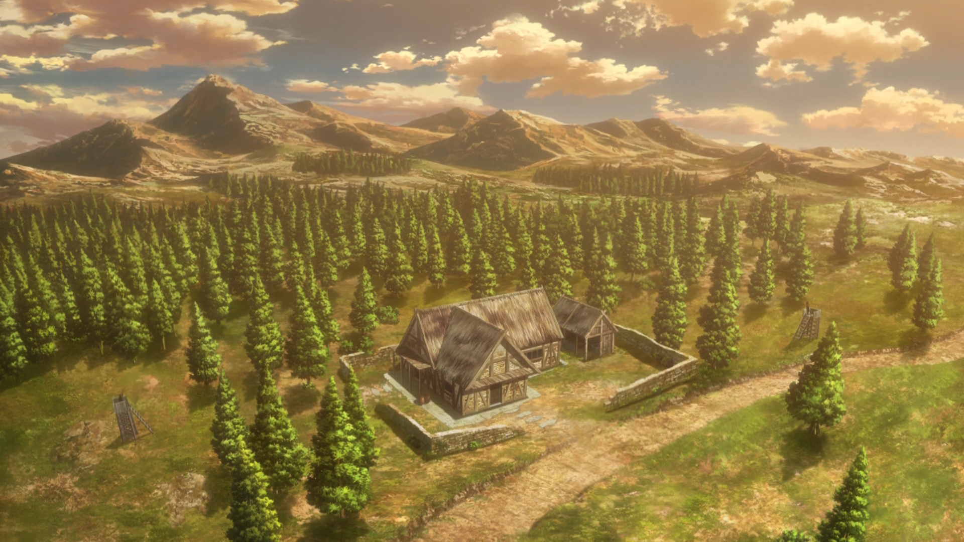 Attack On Titan Landscape Posted By Zoey Tremblay