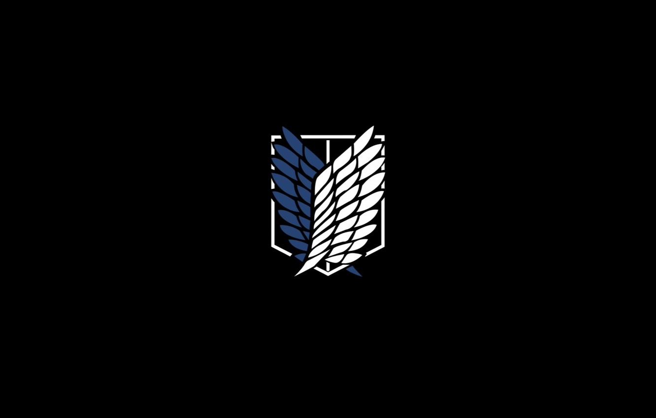 Attack On Titan Logo Wallpaper Posted By John Sellers