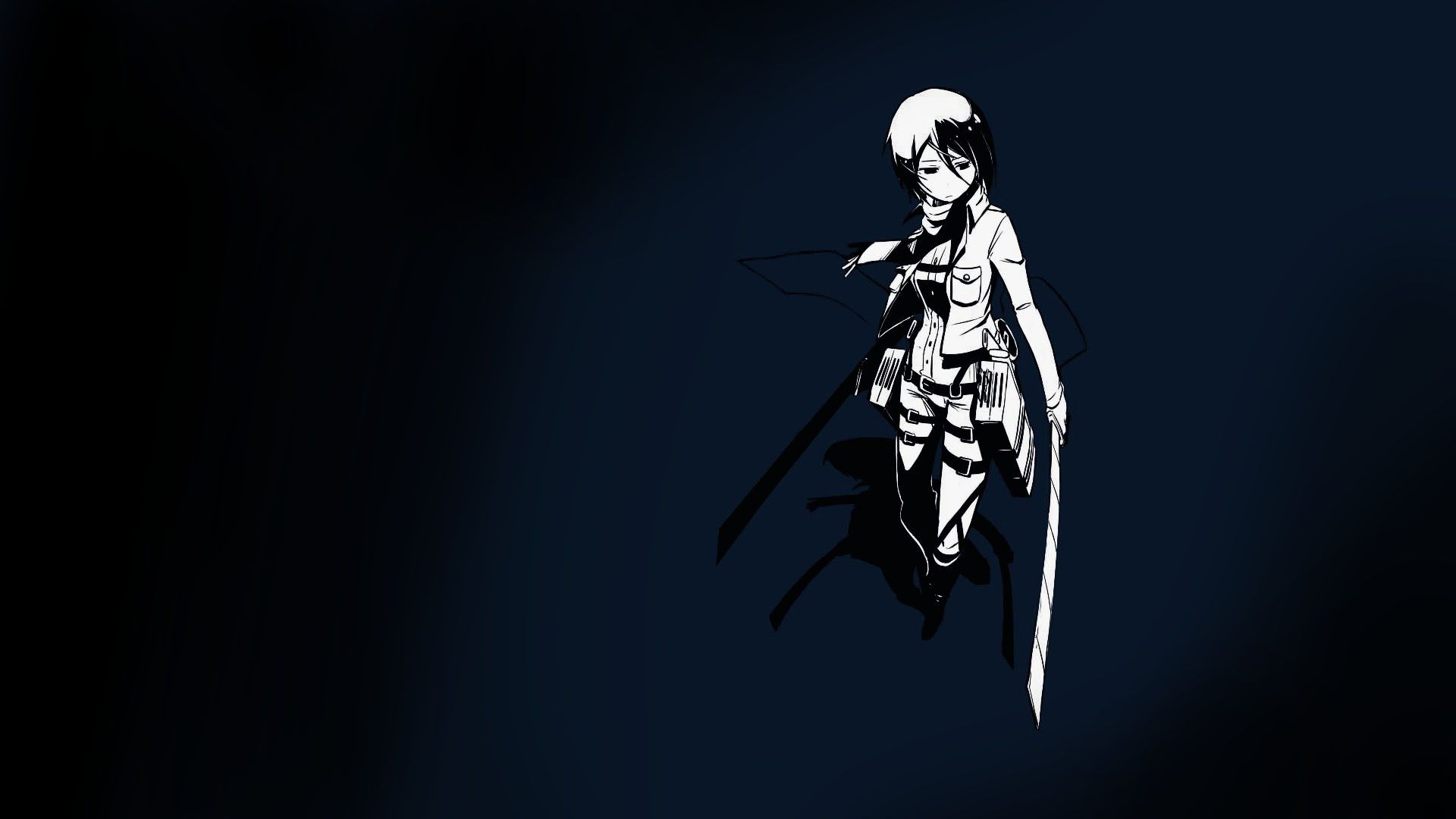 Attack On Titan Minimalist Wallpaper Posted By Ethan Peltier