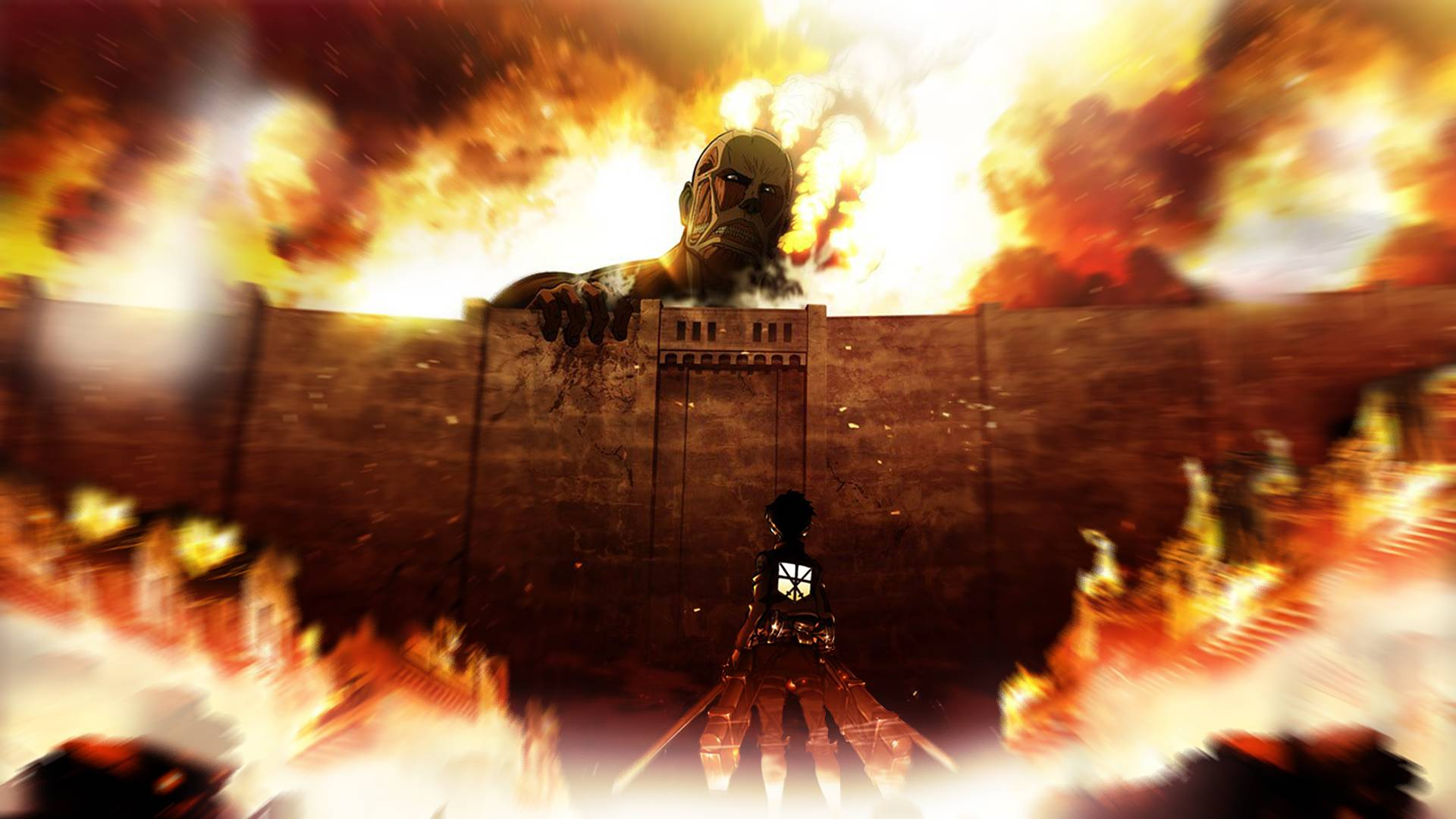 Attack On Titan Pc Wallpaper Posted By John Simpson