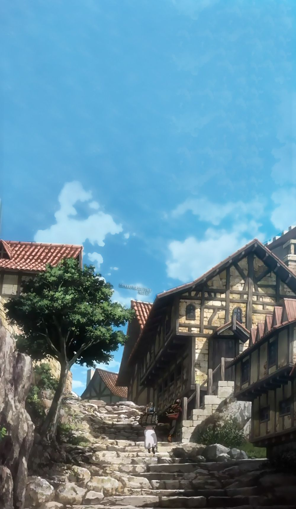 Attack On Titan Scenery Posted By Ryan Thompson