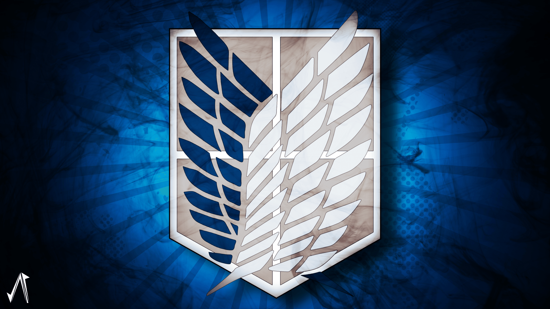 Attack On Titan Scout Regiment Symbol Posted By Ryan Simpson