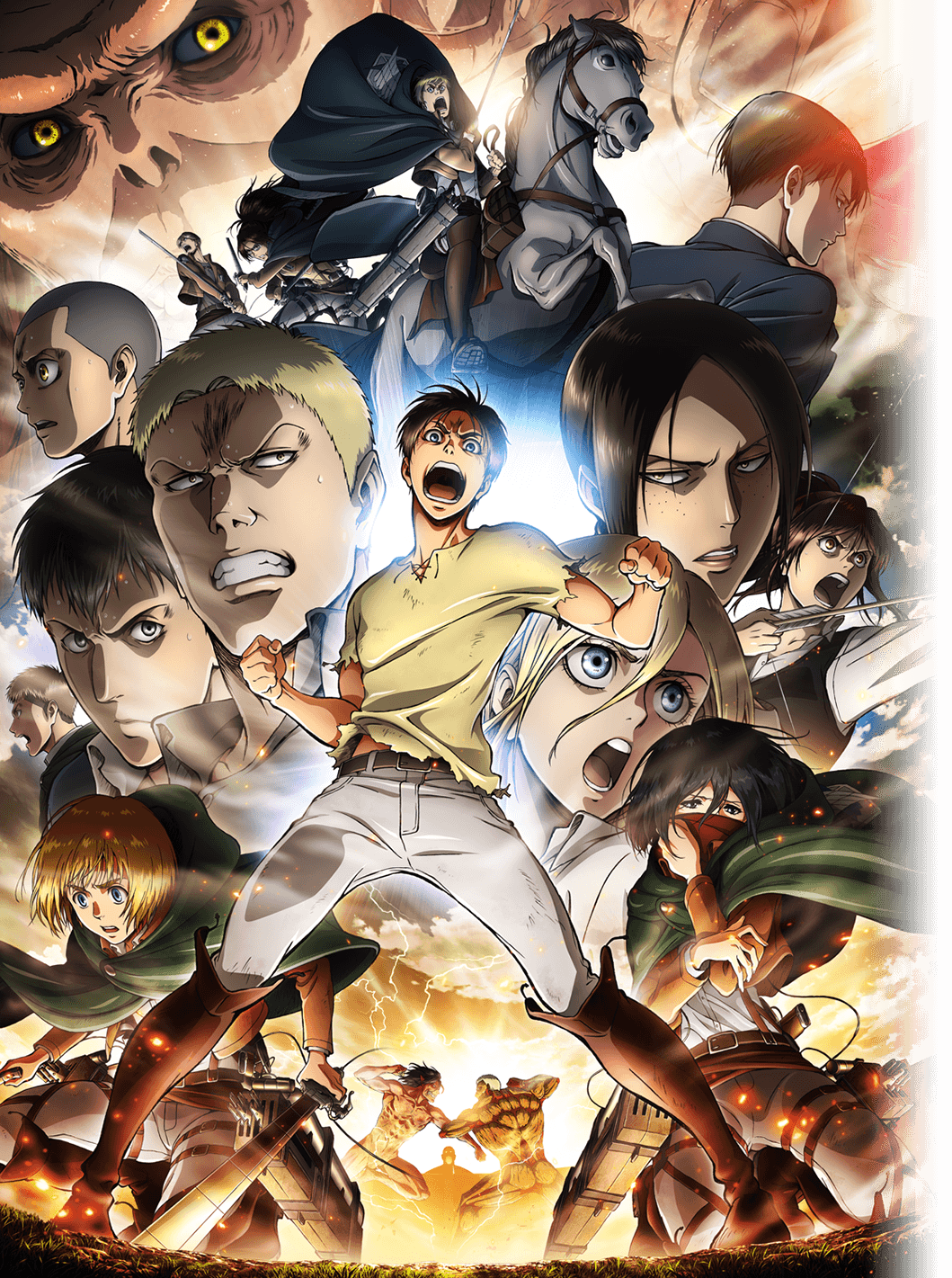 Attack On Titan Season 3 Wallpaper Posted By Samantha Tremblay