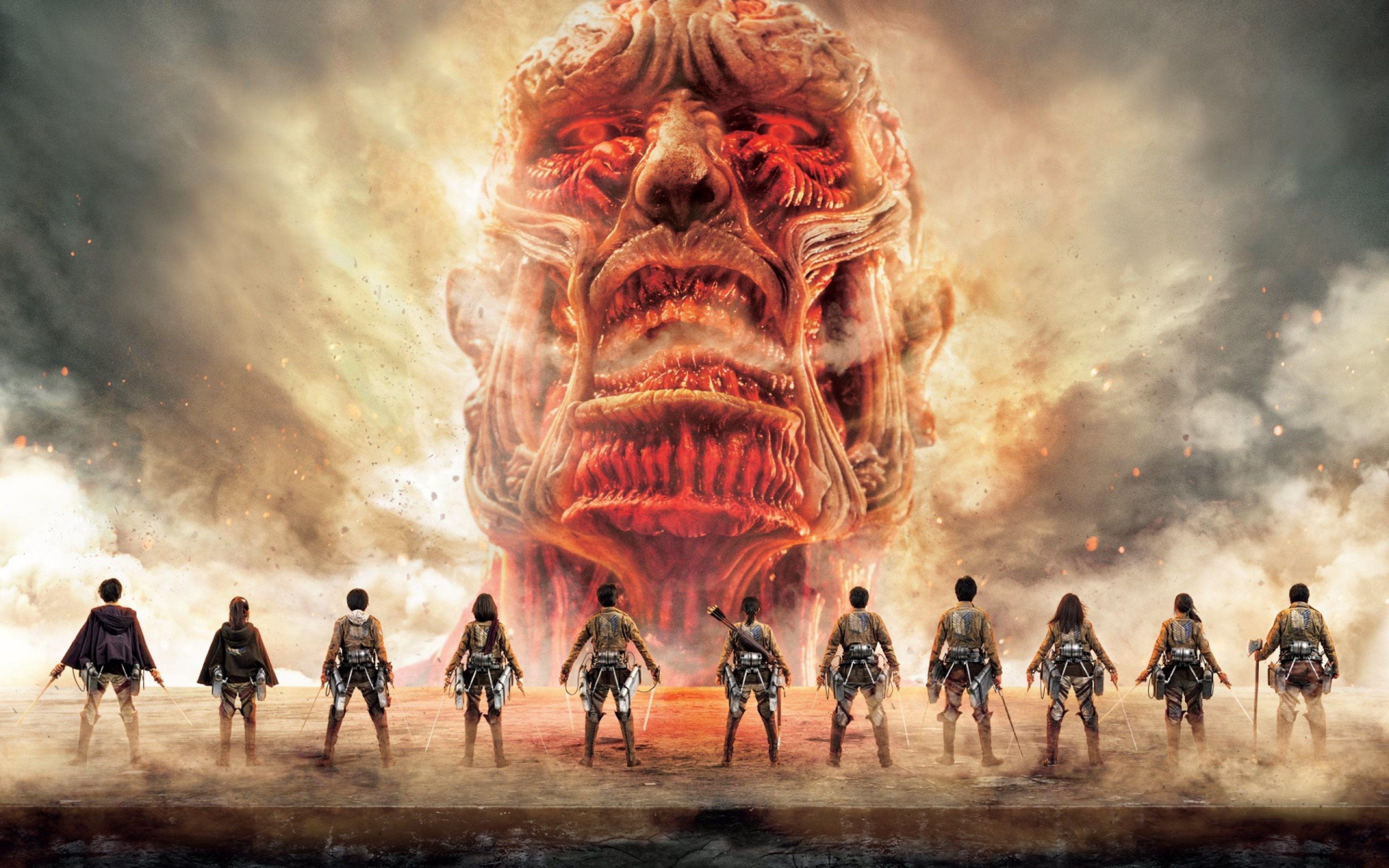 Attack On Titan Season 3 Wallpaper Posted By Samantha Tremblay