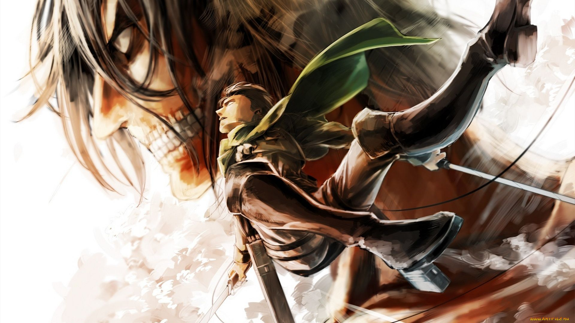 Attack On Titan Wallpaper 1920x1080 Posted By Ryan Mercado
