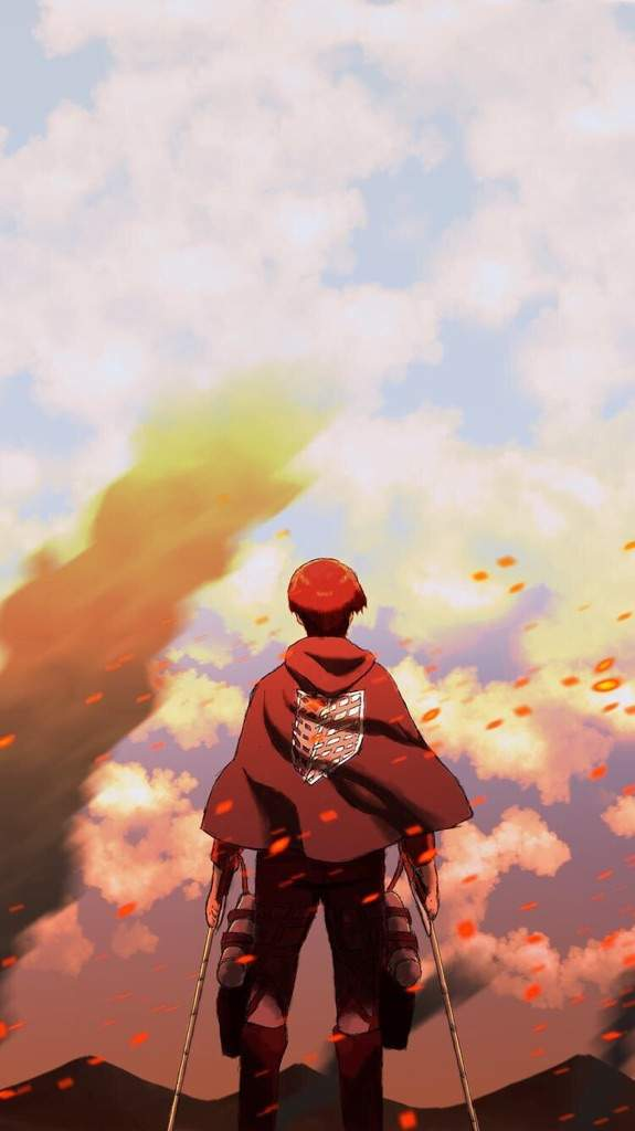 Attack On Titan Wallpaper Iphone Posted By Zoey Simpson