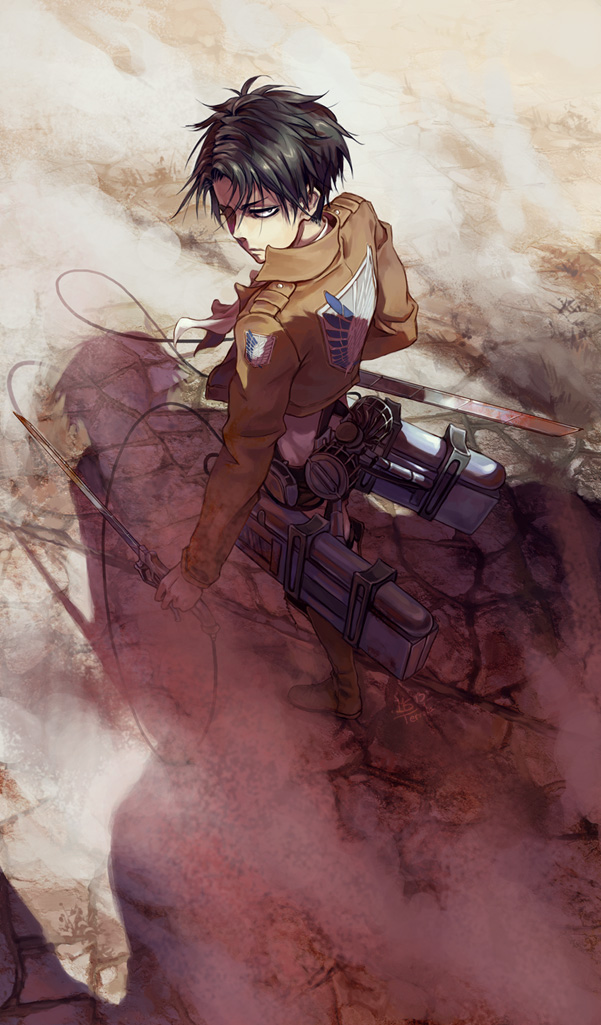 Attack On Titan Wallpaper Levi Posted By Zoey Cunningham