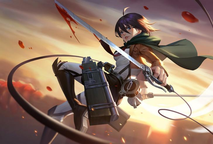 Attack On Titan Wallpaper Posted By Ryan Peltier
