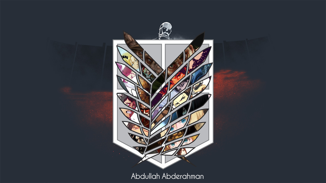 Attack On Titan Wings Of Freedom Logo Posted By Christopher Sellers