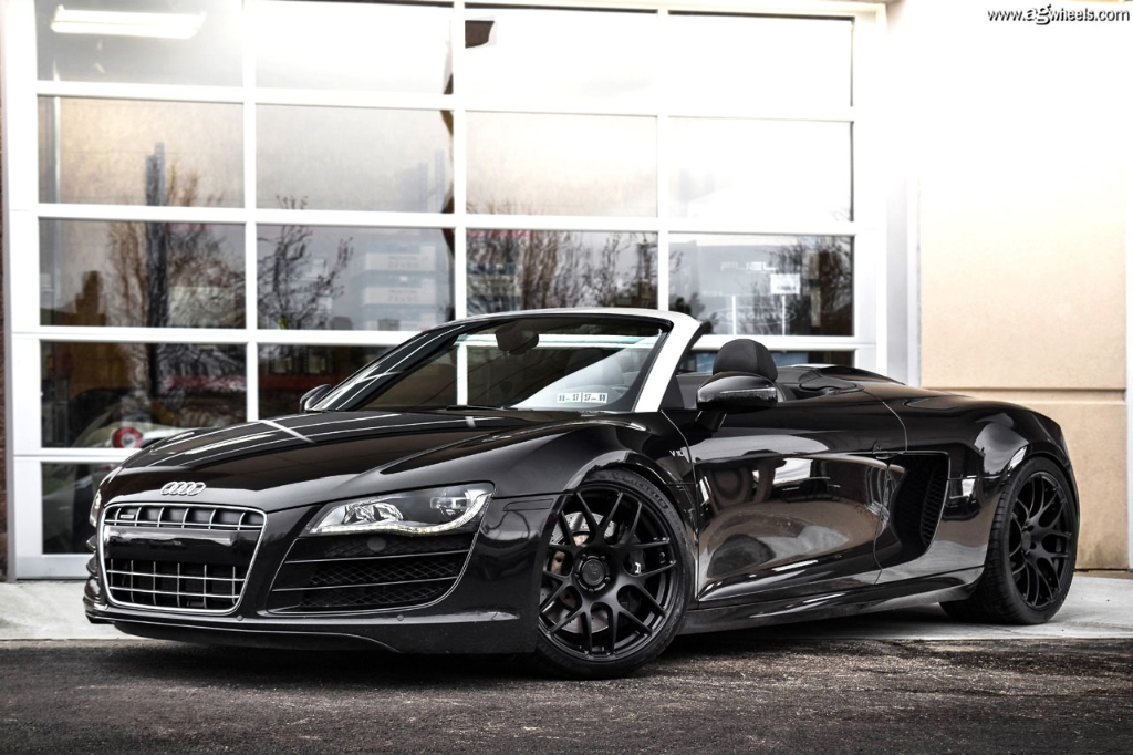 Audi R8 Spyder Matte Black Posted By John Anderson
