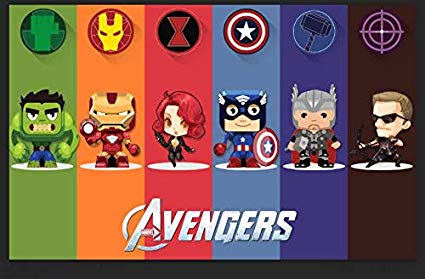 Avengers Cartoon Wallpaper Posted By Ryan Anderson
