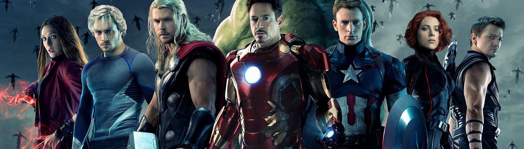 Avengers Dual Monitor Wallpaper
