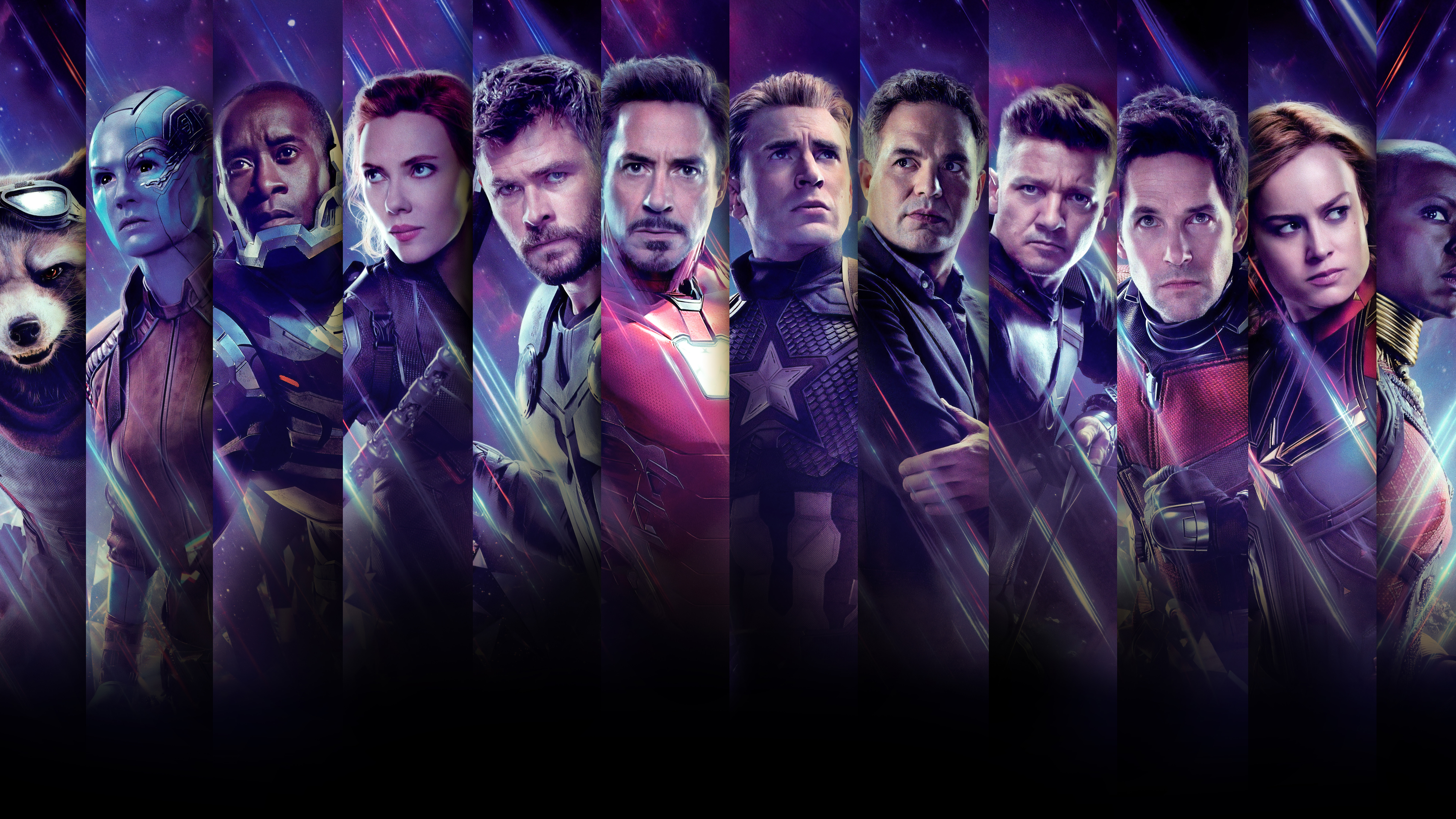 Avengers Endgame 4k Wallpaper Posted By Zoey Anderson